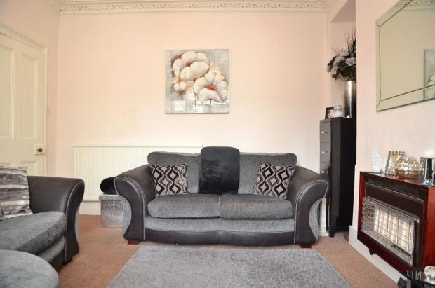 Modern lounge wih...