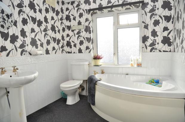 Generous bathroom