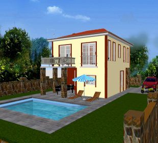 4 bed new development in Mugla, Fethiye, Ciftlik