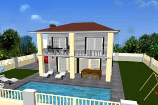 3 bed new development for sale in Mugla, Fethiye, Ciftlik