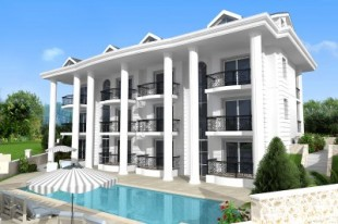 new development in Mugla, Fethiye, Ovacik