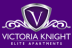 Victoria Knight, Elite Apartments logo