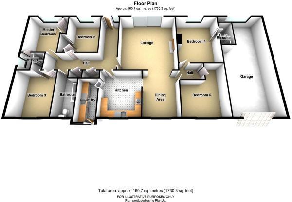 Dilly Dally 3D floor