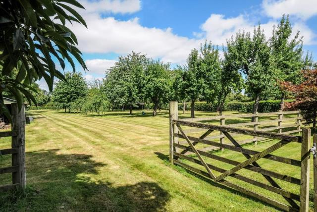 Garden leading into the adjoining Orchard
