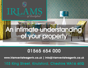 Get brand editions for Irlams (Estate Agents) Ltd, Knutsford