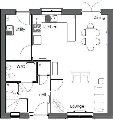 Alder Ground floor