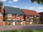 3 bed new home for sale in Turnpike Way, Hedge End...