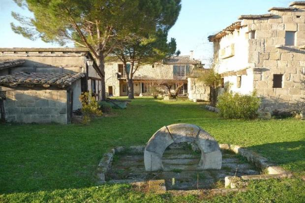 Stone property for