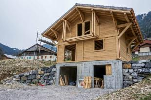 property in New build chalet