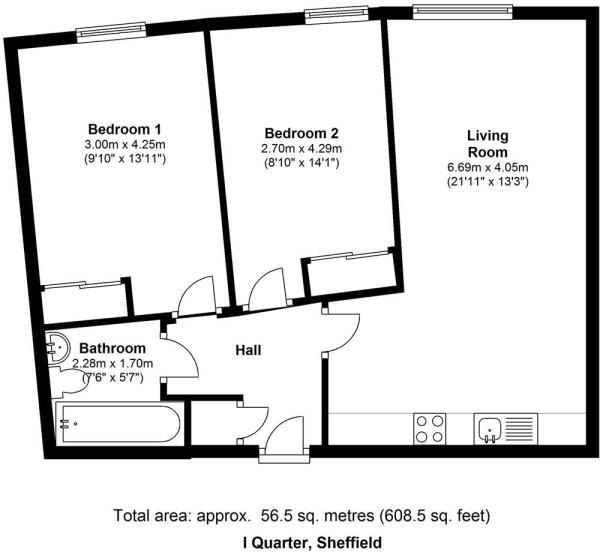 I Quarter Sheffield S3 8BG Floorplan1.jpg
