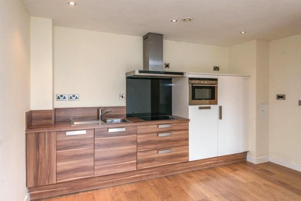 Open Plan Living / Kitchen Area