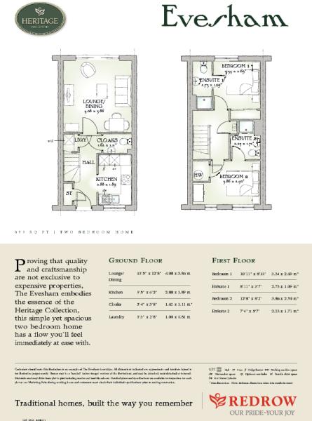 Evesham Floorplan