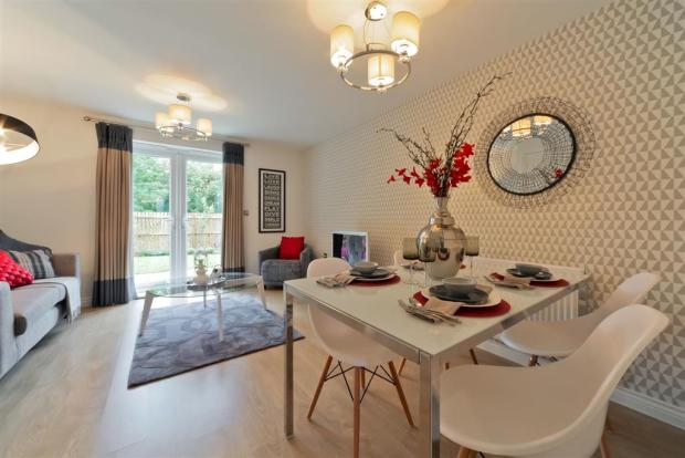 Actual Barden showhomes at Woodside Chase