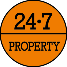 24.7 Property Sales, Largs  logo