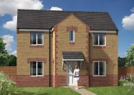 4 bed new property in Tanfield Road...