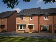 4 bed new home for sale in Kennel Lane, Brockworth...