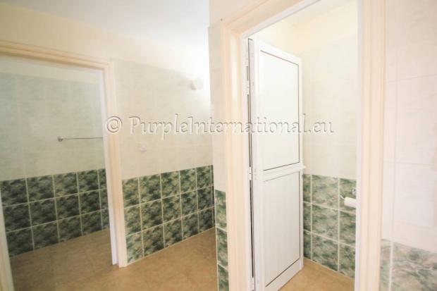 communal showers/toilets