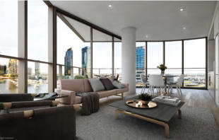 Apartment in 1601A/889 Collins Street...