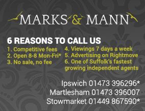 Get brand editions for Marks & Mann Estate Agents Ltd, Ipswich