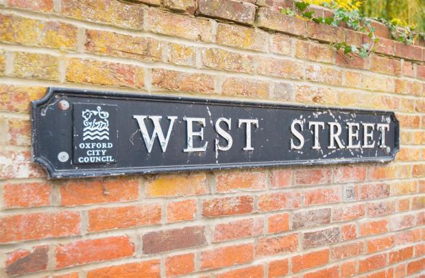 West Street Sign
