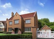 4 bed new property for sale in Stretton Hall Lane...