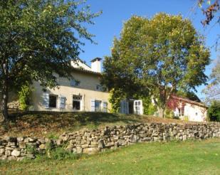 Farm House in Aurignac, Midi-Pyrenees...