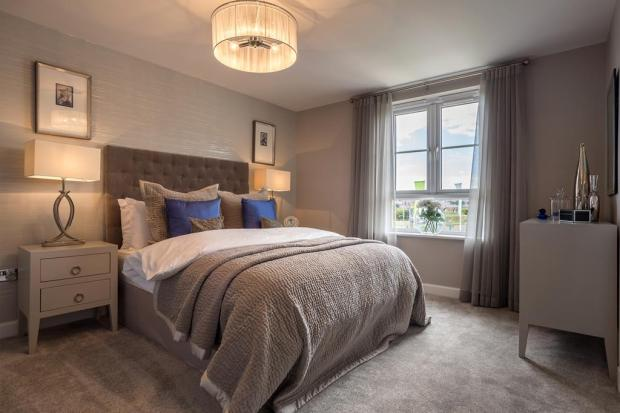 Balmoral Master Bedroom