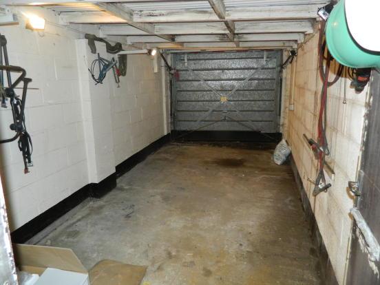 19'6 Garage with up & over door