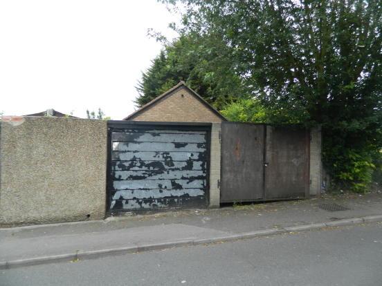 Street access to Garage (Left Hand Side Door)