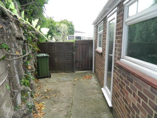 side of property door to garage