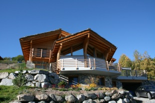 new development in Valais, Ovronnaz