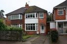 2 bedroom semi detached home in Parkdale Road, Sheldon...