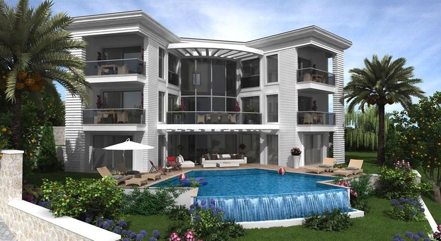 Detached house in Ovacik, Fethiye, Mugla