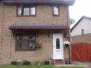 semi detached home for sale in Darnaway Drive, Glasgow...