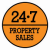 24.7 Property Letting (Glasgow) Ltd, Shettleston Sales logo