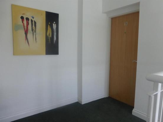 Entrance To Apartmen