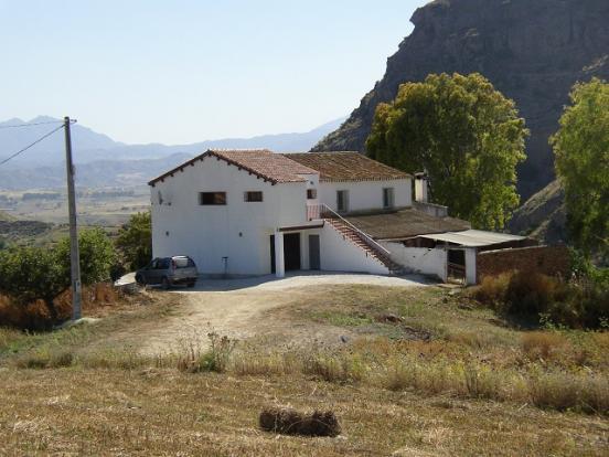 Cortijo building