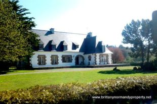 Brittany Manor House