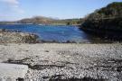 Sea shore near croft