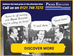 Get brand editions for Prime Estate Agents Uk Ltd, Castle Bromwich