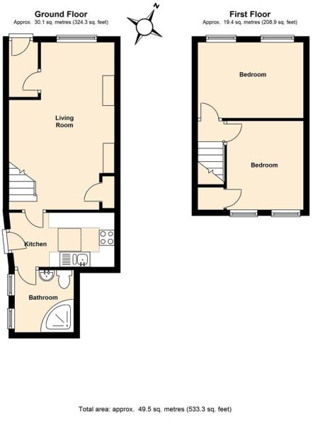 REF 1254 Floorplan T