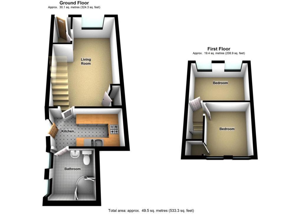 REF 1254 Floorplan O