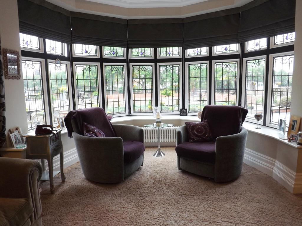 Bay Window Seating Area