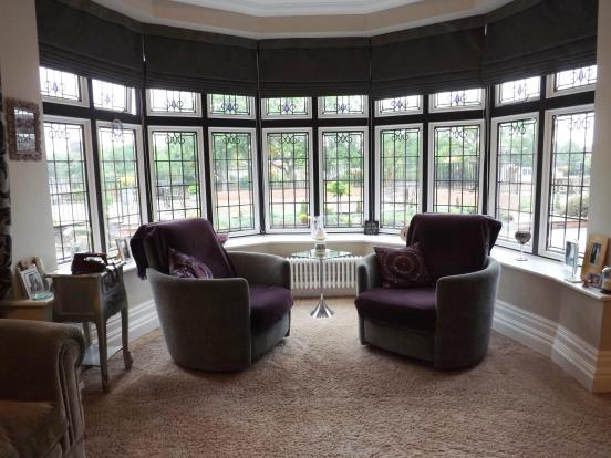 Bay Window Seating Area