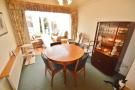 Dining room through to conservatory