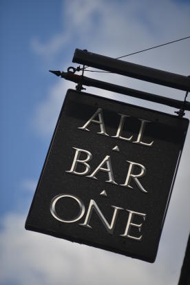 All Bar One adjacent