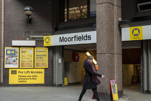 Opposite Moorfields