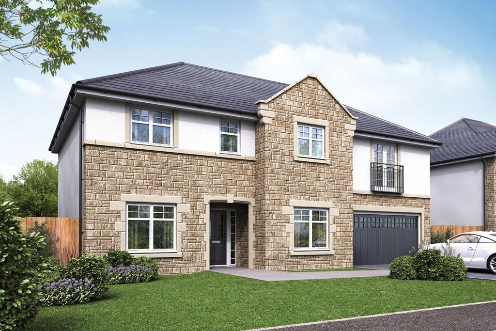 New Homes Redding Falkirk