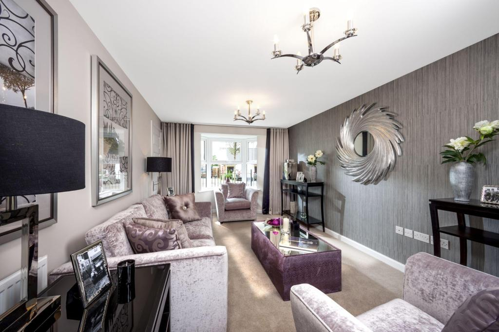 Typical lounge image by Ward Homes, Sholden Fields, Deal
