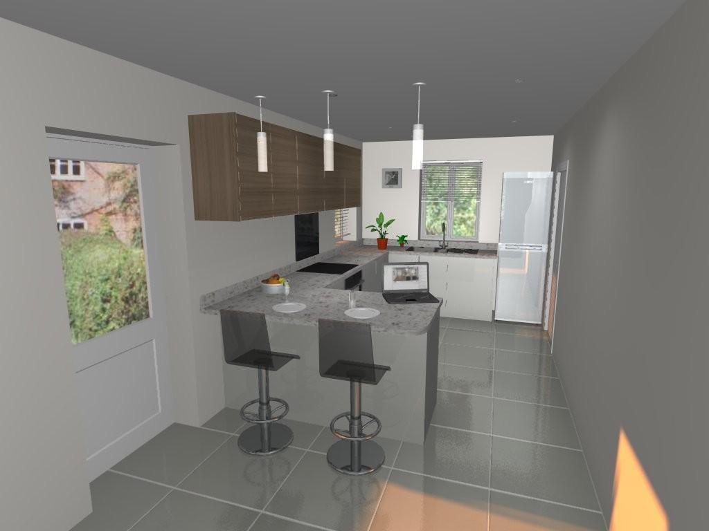 Plot 1 Kitchen